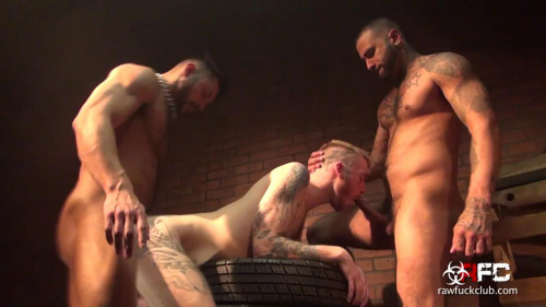 Back Alley 3-Way Gays