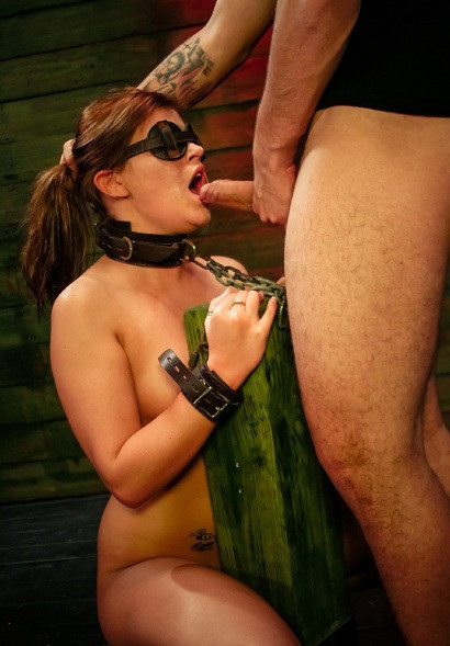 Kayleigh Nicholes First Slave Training Session Goes Wel
