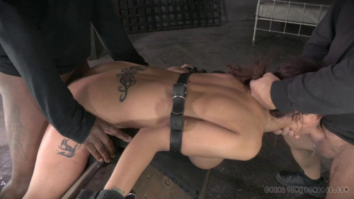 Hardbodied MILF Syren De Mer tightly tied and ANALLY pounded by BBC