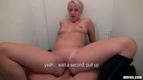 A Fit Blonde From The Street Was All Business About Getting Her Ass Up Amateurish