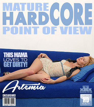 Artemia – Horny housewife fucks in POV style FullHD 1080p