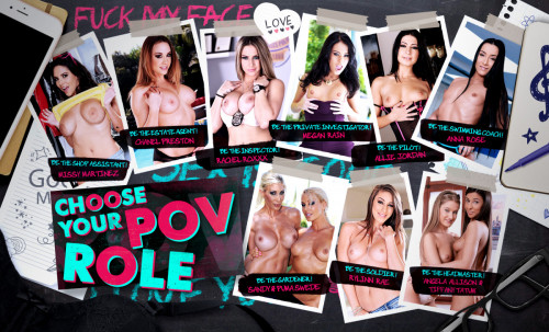 Choose Your POV Role 21Roles LifeSelector Erotic games