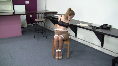 Madalynn Raye - Roommates Office Bondage Trickery HD