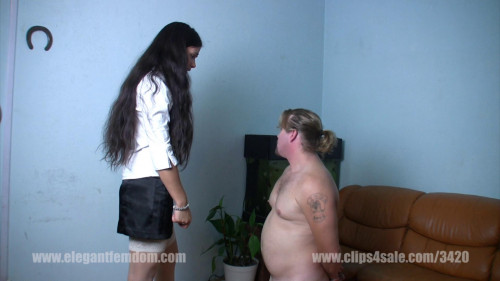 Mistress Mira-Faceslapping Femdom and Strapon