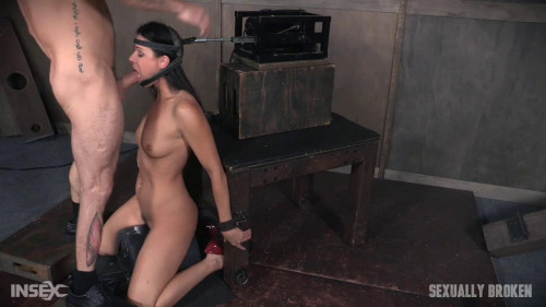 Two machines dominate India Summers BDSM