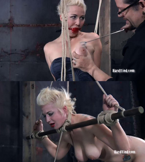 Super bondage, strappado and torture for hot sexy blonde part 1