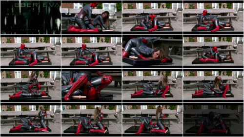 Pewter Rubber Patio Pervs - Part 3 - Full HD 1080p BDSM Latex