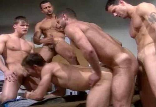 Rough Gangbang Service Gay Movie