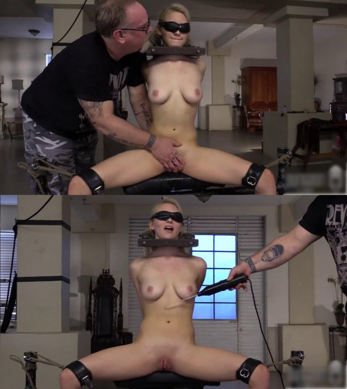 Bondage, domination, spanking and torture for young blonde (part2) BDSM