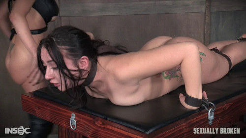 Her amazing booty gets abused with cock-rough bdsm porn
