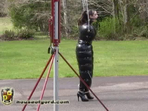 Inflated and Exercised in Rubber