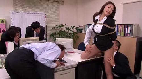 Tied Domineering Woman Boss Censored asian