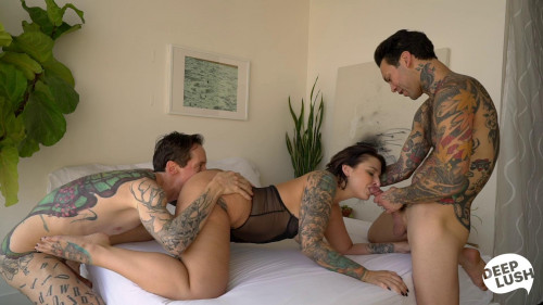 All About Ivy HD Threesome
