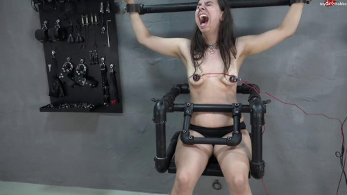Tits and feet under power