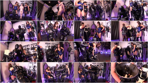 Fitting sex suits - HD 720p BDSM Latex