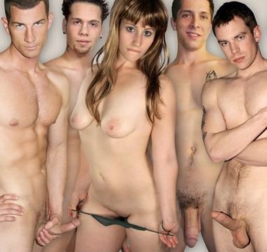Bi  Bareback  Orgy