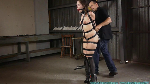 Tight Leather Bondage for Rachel - Part 1 BDSM
