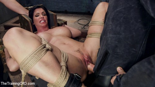 Big Tit Milf Faces Her Fears to Get Dick BDSM