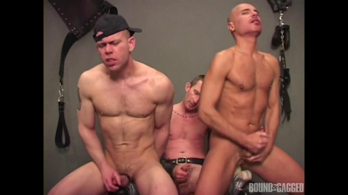 Bound & Gagged -Alley Pigs in Bondage - Assfuck Time Gay Extreme