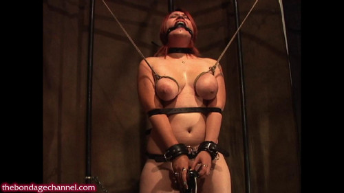 Breast Bondage Orgasm Predicament - HD 720p