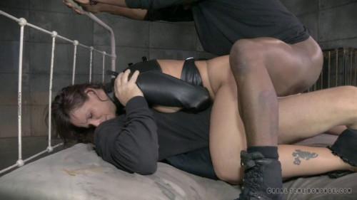 Brutal milf Dp on bbc as Syren De Mer is straight jacket sex