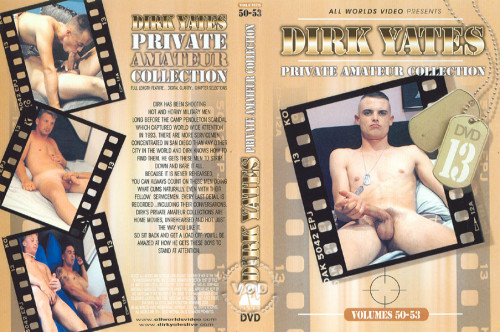 Dirk Yates - Private Amateur Collection Volume 50 Gay Retro