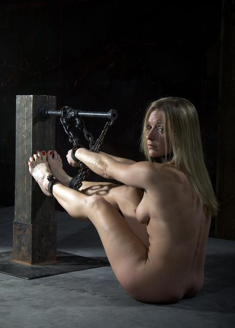 Bondage and submission make her feel whole