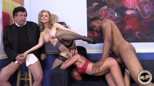 Raven Bay and Nina Hartley Gonzo (Point Of View)