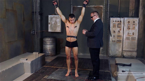 Absolutly New Collection Ruscapturedboys 50 Clips Part 1. Gay BDSM