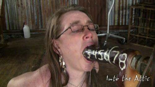 Bridget deep throat test