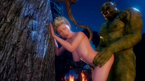 A Mysterious Ritual 3D Porno