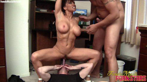 Devon Michaels - The Party's At Her House. And Everyone's Coming Female Muscle