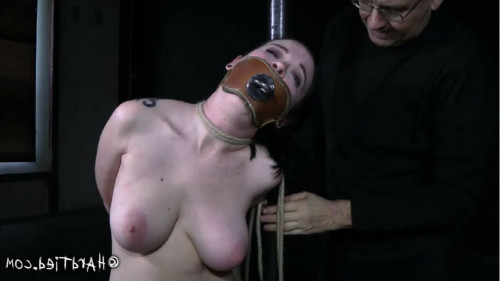 Hard tying, spanking, wrist and ankle bondage and torment hawt angel part 1