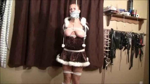 Brendasbound - The Sexy Eskimo Girls Bound And In Trouble