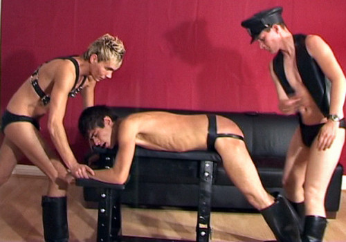 Double Spanking for a Boot-Boy SWEETHEART