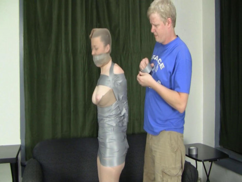 Tied Damsel Tape Mummy