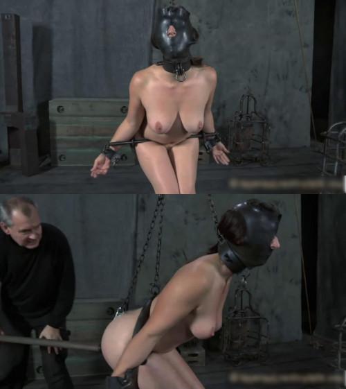 Tight bondage, suspension and torture for naked slavegirl (part2)
