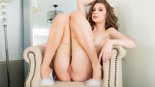 Elena Koshka fucking in the bedroom with her blue eyes