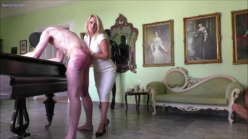 Courtney Afternoon Tea With The Whip vol. 2 Femdom and Strapon
