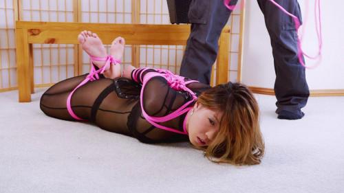 Mina Sheer Catsuit Hogtie (2018) Asians BDSM