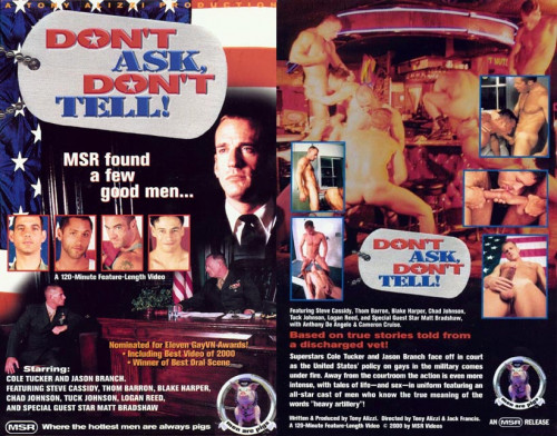 Msr Videos – Don't Ask, Don't Tell! (2000) Gay Retro
