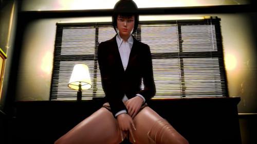 Pretty Secretary 3D Porno