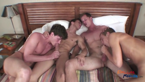 Dallas Reeves, Brice Carson, Patrick Kennedy and Tyler Blaze