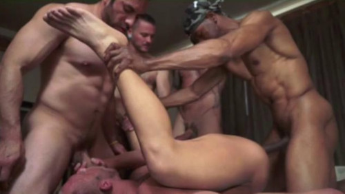 Deep Gangbang With Best Anal Hunters