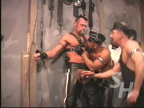 """Real Super Collection 36 Best Clips """"SmokingHunks"""". Part 4. Gay BDSM"""