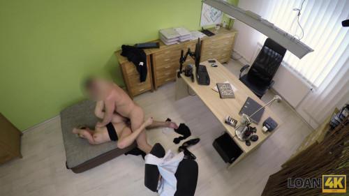 Horny Loan Agent Hidden camera, voyeurism