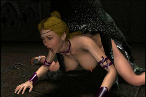 Catching Princess 3D Porno