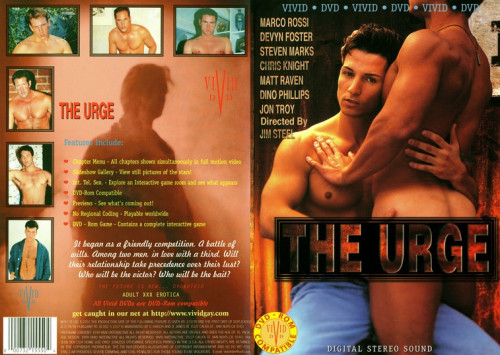 The Urge - Marco Rossi, Devyn Foster, Dino Phillips (1995) Gay Retro
