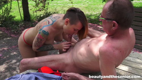 Christie Star - Beauty And The Senior (2016) Old and Young