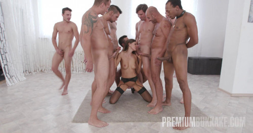 Gorgeous Milf Tina Kay Accepts Tens of Huge Cocks at Once Part 1
